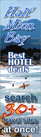 Best Hotel Deals in Half Moon Bay, California - search over 30 travel sites at once