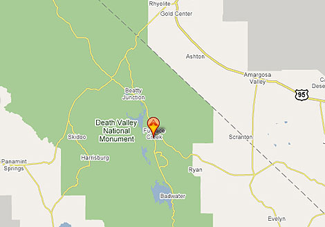 Death Valley Map - Furnace Creek